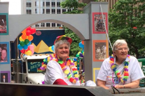 Aganita and Sue at Seattle Pride